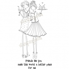 218188 Stamping Bella Uptown Girl Felicity and Blair