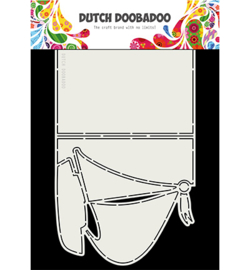 470.713.764 Dutch DooBaDoo Card Art A4 Zeilboot