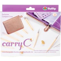 072976 Carry C Interchangeable Bamboo Knitting Needle Set