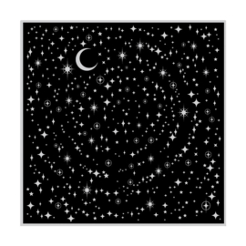 "556749 Hero Arts Cling Stamps Star Light Star Bright Bold Prints 4.5""X5.75"""