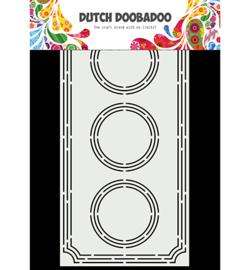 470.713.855 Dutch DooBaDoo Card Art Slimline Ticket