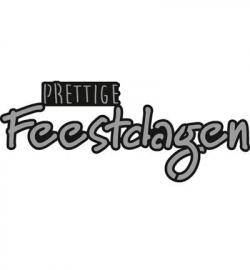 CR1326 - Craftables - Prettige FEESTDAGEN