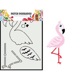 470.713.880 Dutch DooBaDoo Card Art Built up flamingo