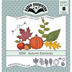 KBR1059 Karen Burniston Dies Autumn Elements