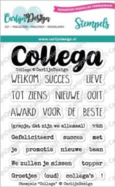 CDST-0070 CarlijnDesign Stempels Collega