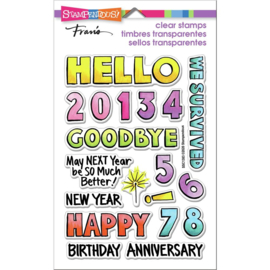 642651 Stampendous Perfectly Clear Stamps Hello 2021