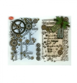 7011 - Clear Stamps - Weihnachts SteamPunk