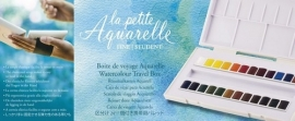 313113/1681 Sennelier La Petite Aquarelle set 24 halve napjes N131681.00