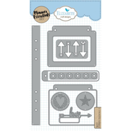 EC1607 Elizabeth Craft Metal Die Planner Essentials 5