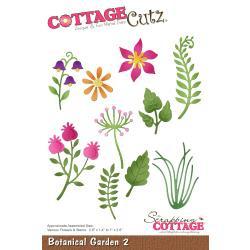 """466579 CottageCutz Die Botanical Garden 2 .8"""" To 2.6"""""""