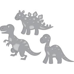 S3317 Spellbinders Shapeabilities Dies Dinosaurs