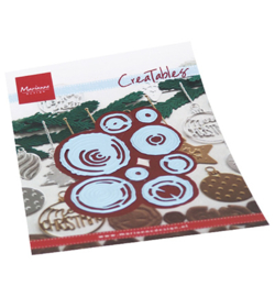LR0684 Marianne Design Creatable Wood slices