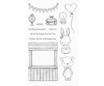 SY-17 My Favorite Things Kissing Booth Clear Stamps