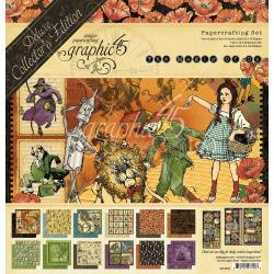"589637 Graphic 45 Deluxe Collector's Edition Pack Magic Of Oz 12""X12"""