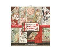 SBBS09 Stamperia Oriental Garden 8x8 Inch Paper Pack