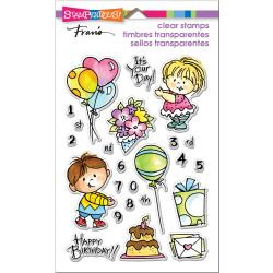 560487 Stampendous Perfectly Clear Stamps Birthday Kids