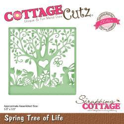 """CCE500 CottageCutz Elites Die Spring Tree 3.5""""X3.5"""""""