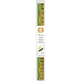 "620795 Heidi Swapp Minc Specialty Reactive Foil Honeycomb 12.25"""
