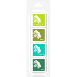 248728 Hero Arts Layering Ink Cubes Rain Forest