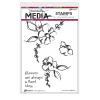 "568481 Dina Wakley Media Cling Stamps Good Idea 6""X9"""