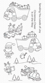"CS501 My Favorite Things Clearly Sentimental Stamps Loads of Joy 4""X8"""