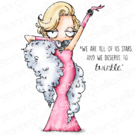 662013 Stamping Bella Cling Stamps Oddball Marilyn