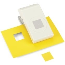 E5431003 Nesting Paper Punch Square 1""