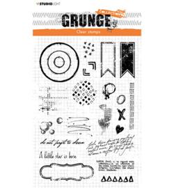 SL-GR-STAMP105 StudioLight Clear Stamp Everyday extras Grunge nr.105