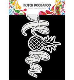 470.784.029 Dutch DooBaDoo Card Art A5 Aloha
