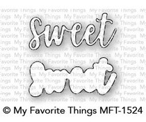 MFT-1524 My Favorite Things Sweet Die-namics