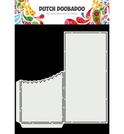 470.713.877 Dutch DooBaDoo Card Art Slimline Scallop Pocket