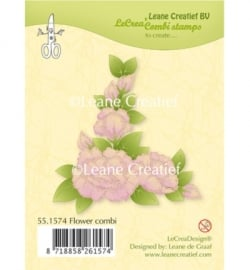 551574 Clear Stamp Flower combi