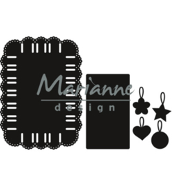 CR1436 Marianne Design Craftables Ribbon rectangle