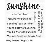CS-301 My Favorite Things Stempel Full of Sunshine