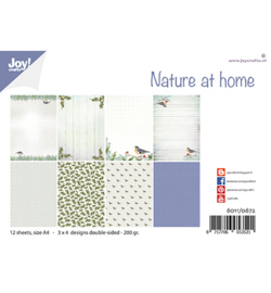 6011/0672 Joy!Crafts Papierset Design Nature at home