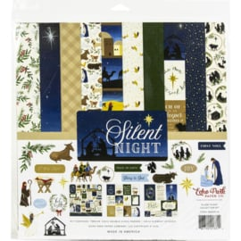 """633711 Echo Park Collection Kit Silent Night 12""""X12"""""""