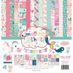 "335002 Echo Park Collection Kit  Imagine That Girl 12""X12"""
