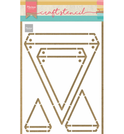 PS8082 Marianne Design mask stencil Flags
