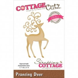 118639 CottageCutz Elites Die Prancing Deer