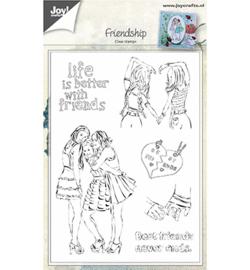 6410/0450 Stempel Vriendschap