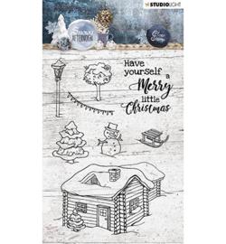 STAMPSA399 - Stamp, Snowy Afternoon nr.399