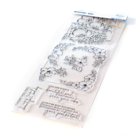 "653771 Pinkfresh Studio Clear Stamp Set Anemone Magic 6""X8"""