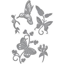 S4640 Spellbinders Shapeabilities Dies Botanical Flutters