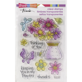 645711 Stampendous Perfectly Clear Stamps Pop Bouquet