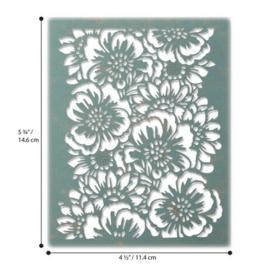 664418 Sizzix Thinlits Die Bouquet Tim Holtz
