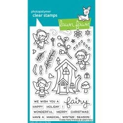 LF1224 Lawn Fawn Clear Stamps Frosty Fair Friends