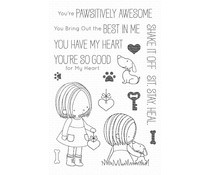 BB-88 My Favorite Things You Have My Heart Clear Stamps