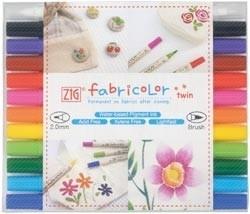 471035 Zig Fabricolor Twin Tip Marker