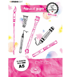 PAPERBM02 StudioLight BM Allround Paper pad Watercolor Essentials nr.2