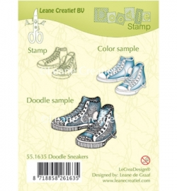551635 Doodle Stamp Sneakers
